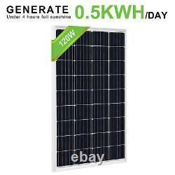 200Watt 240W 300W 12V Solar Panel Kit 20A 60A Controller 1000W Inverter Off Grid