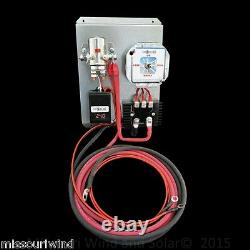24 Volt Digital Charge Controller with Brake Switch for Wind & Solar