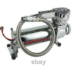 3/8 Air Management Kit Complete with580 Chrome Compressors Tank Evolve Manifold
