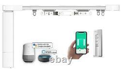 5.2M Smart Curtain Tracks, Remote Control DIY Smart Electric Curtain Rail System