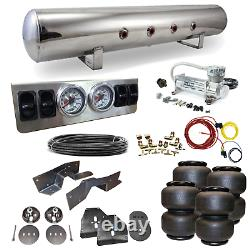 63-72 C10 C20 Airbag Kit Stage 1 1/4 Manual Control 4 Path Air Ride System