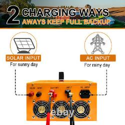 720W Solar Panel Kit System 3KW 24V ALL-IN-ONE Solar Charge Controller Inverter
