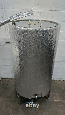 750L stainless steel fermenter with fully automatic temperature control system