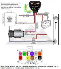 AEM 30-3300 Water Methanol Injection Kit V2 MAP Sensor & BOOST CONTROLLER 35PSI