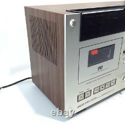 AKAI GXC-570D Stereo Cassette Deck Sensi-Touch Control System TESTED NICE