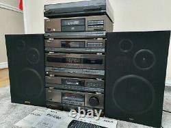Aiwa MX-D86M Stereo Hifi Separates Stack System Plus Remote Control