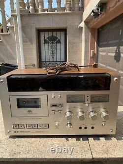Akai GXC-570D Stereo cassette Deck Sensi-touch Control System