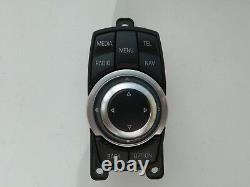 BMW 3 F30 5 F10 X3 F25 iDRIVE MEDIA SWITCH CONTROLLER MOUSE JOYSTICK CIC 9267955