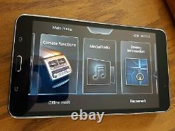 BMW 7Series Touch Screen Tablet System Control 740-750i-xi OEM Samsung SM-T230NW