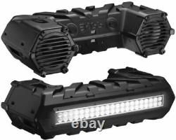 Boss Audio 8 Rack Mount Bluetooth LED Lightbar Sound System with Control 56-8147