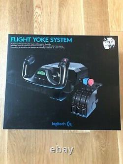 Brand New In Hand Logitech G Saitek Pro Flight Yoke System For Flight Simulator