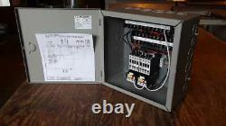 Commercial restaurant ventilation hood system electrical control panel ul listed