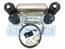 Complete 1973-1987 C10 Truck Pickup Air Ride Suspension Lowering System Bolt-on