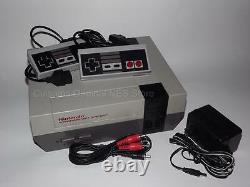 Complete Nintendo Nes System Console With 2 Controllers, Guarantee & New 72 Pin