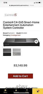 Control 4 C4-EA5-V2 Automation System