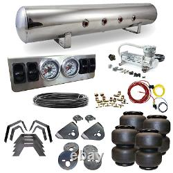 Dodge Ram Airbag Kit Stage 1 1/4 Manual Control 4 Path Air Ride System
