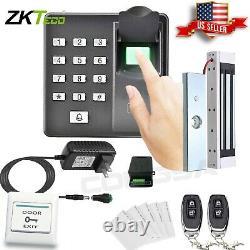 Door Access Control System Biometric Fingerprint zkteco, Magnetic Lock, 2 Remote