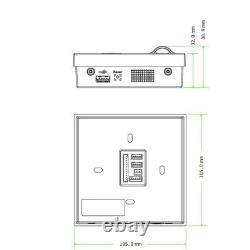 Door Access Control System Biometric Fingerprint zkteco bluetoot ZK Sf400 Entry