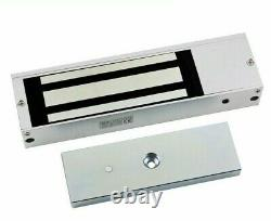 Door entry Access Control System, Electric Magnetic Lock 1200lb 500kg, 2 Remote