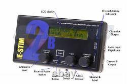E-Stim systems 2B control unit (estim, electroplay, tens) Latest model
