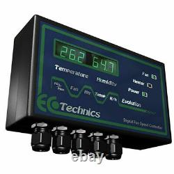 Ecotechnics 12amp Digital Fan Speed Controller Extraction System Controller