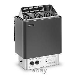 Electric Sauna Heater Sauna Stove Dry Sauna Control System 3-6m³ 4.5kW 30-110°C