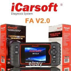 Fahrzeugdiagnose iCarsoft FA V2.0 für Fiat Alfa Romeo +AUS DEUTSCHLAND+