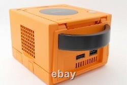 Gamecube Orange Console System & Controller Set Nintendo GC NTSC-J