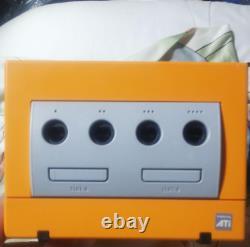 Gamecube Orange Console System & Orange Controller Set Nintendo GC English Ver