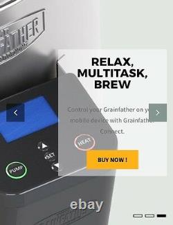Grainfather Connect Brewing System with Bluetooth Control FREE Distillation Lid