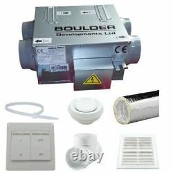 HRVU DHV-04/100B Heat Recovery Ventilation Full System Condensation Control