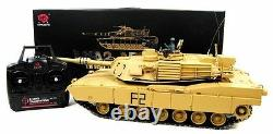 Heng Long Radio Remote Control tank Abrams M1A2 116 scale 2.4G System Desert