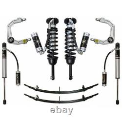 ICON Stage 4 Suspension System Billet UCA 0-2.75 Lift For 05-21 Toyota Tacoma