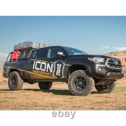 ICON Stage 4 Suspension System with Tubular UCA 0-2.75 Lift 05-21 Toyota Tacoma