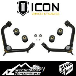 ICON Tubular Upper Control Arm Delta Joint Kit For 2009-2020 Dodge Ram 1500