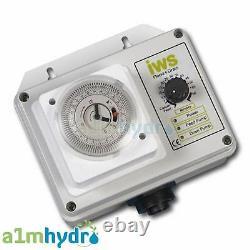 IWS Flood and Drain Premium Brain Timer Control Systems Hydroponics