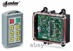 Lodar 6 Function 15 amp Standard Remote Control System 92106