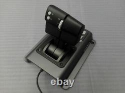 Logitech Flight System G940 Force Feedback Joystick, Dual Throttl, Rudder Pedals