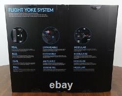 Logitech G Saitek PRO Flight Yoke System SIMULATOR CONTROLLER Ships Today