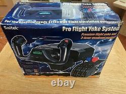 Logitech G Saitek Pro Flight Yoke System Flight Simulator with Throttle Quadrant