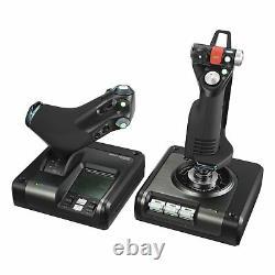 Logitech G Saitek X52 Pro Flight Control System Control System for Simulators