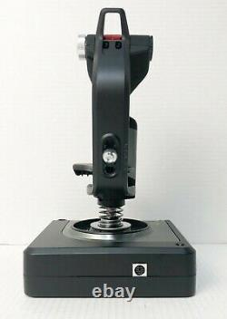 Logitech G X52 Professional HOTAS Flight Control System For PC Black 945-000066