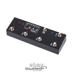 MOEN GEC5 Guitar Pedal FX Loop Switcher 5 Loop Foot Controller Routing System