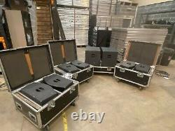 Martin Audio 6 x ICT300 / 2 x ICS300 system and controller including flightcases
