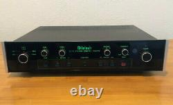 McIntosh C712 stereo preamp/system control center with remote and manual ex cond