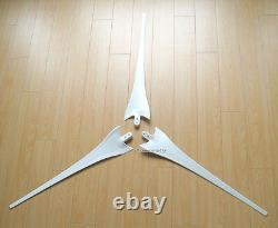 Megashark 3500 W Watt 12 V AC 3 Blade Wind Turbine System + Hybrid Controller