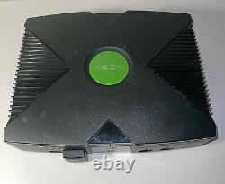 Microsoft Original Xbox Console System Bundle With 9 Games & 1 Controller Tested