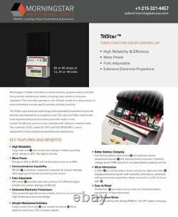 Morningstar TS-45 TriStar Solar Charge Controller 45A