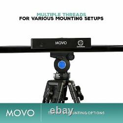 Movo Motorized Slider System withWireless Controller & Live Video / Timelapse Mode