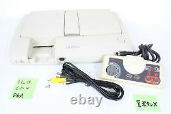 NEC PC Engine Duo-R Console Japan PI-TG10 system tested working controller